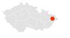 Mapa Pronovo v Morava